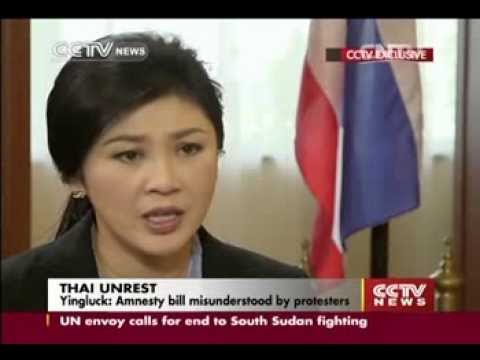 Exclusive interview: Yingluck on ongoing political stalemate in Thailand (part 1)