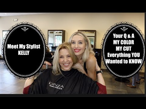 Meet Kelly My Stylist | My Color | Cut and YOUR Q A #HAIRCARE from YouTube · Duration:  43 minutes 48 seconds