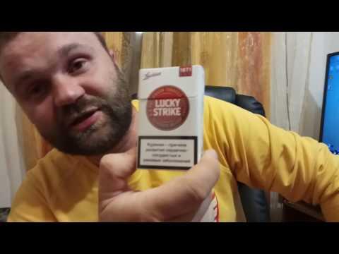 Обзор сигарет Lucky Strike Premium Red (Беларусь)