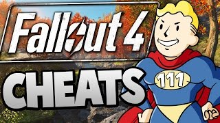 Fallout 4 - Becoming a SUPER HERO With CHEATS - Fallout 4 Funny Moments w Cheats