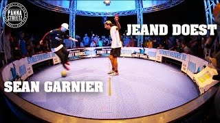 Panna legends Jeand Doest & Séan Garnier...