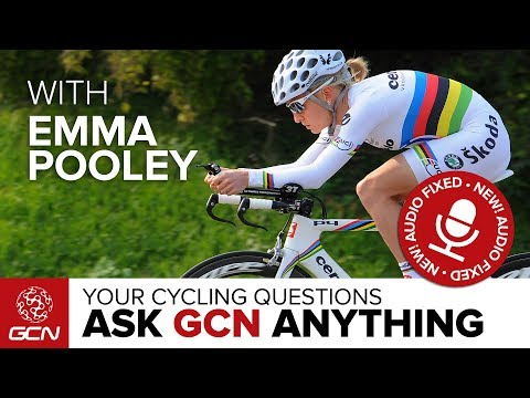 The Emma Pooley Special - AUDIO FIXED | Ask GCN Anything About Cycling