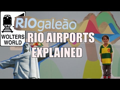 Visit Rio - Advice on Rio de Janeiro Airports