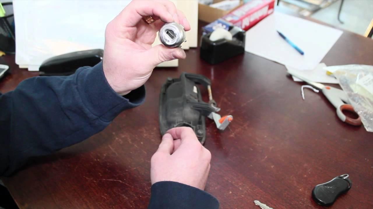 Car Door Lock Cylinder