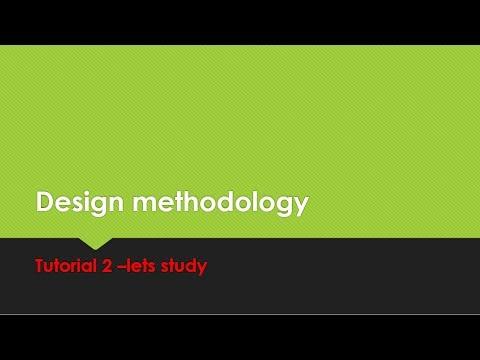 Design Methodology  tutorial- 2  HDL,Design Process