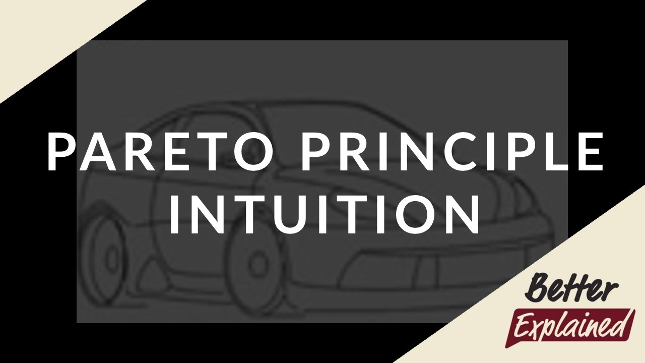 Understanding the Pareto Principle (The 80/20 Rule) – BetterExplained