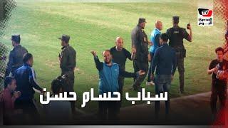 حسام حسن يحي جماهير الأهلي عقب سبابه بمباراة سموحة بـ«بتروسبوت»