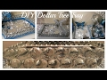 DIY- GLAMOUR BLING MIRROR TRAY (DOLLAR TREE CRAFT) (BLING QUEENS EP #4)