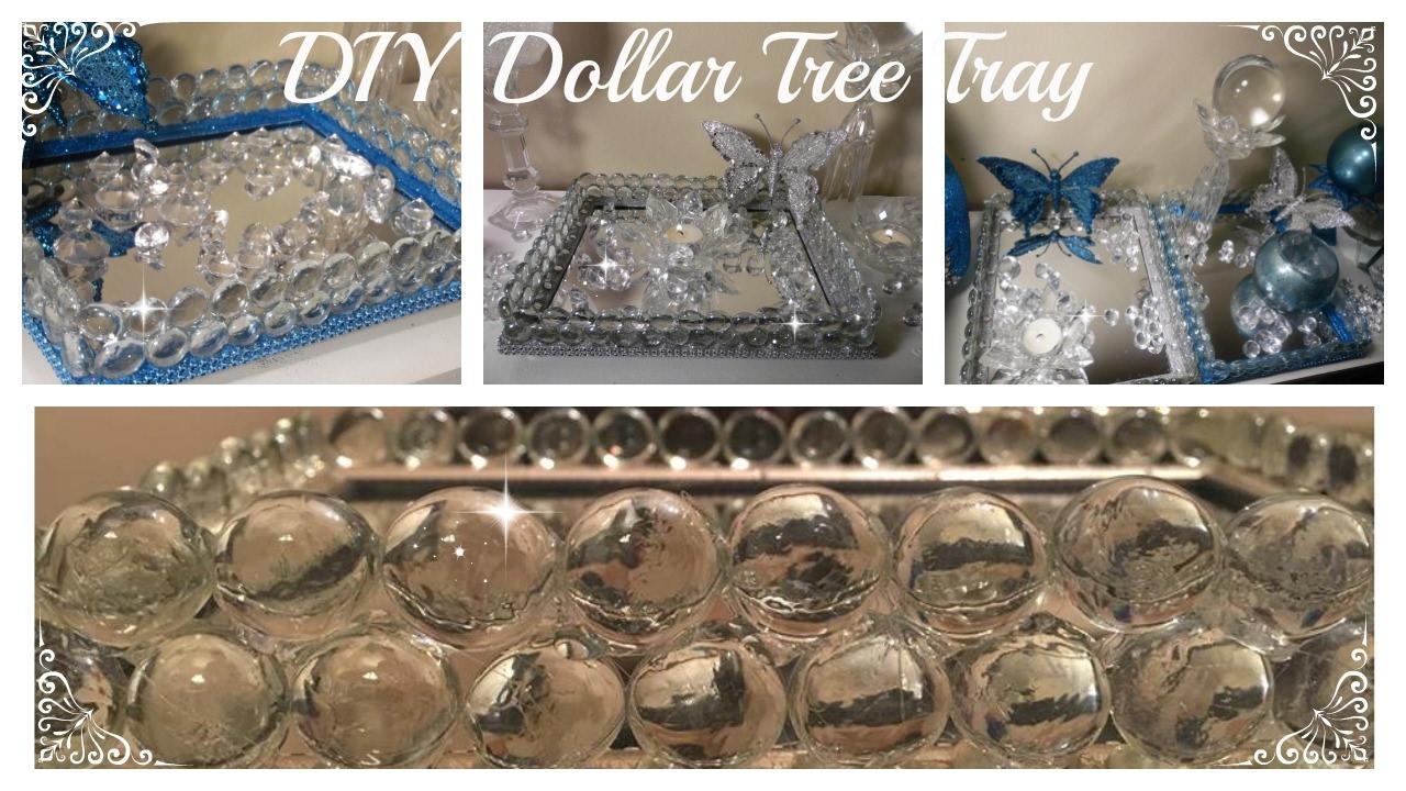 Dollar Tree Vanity Tray D I Y The Original Gem To Mirror