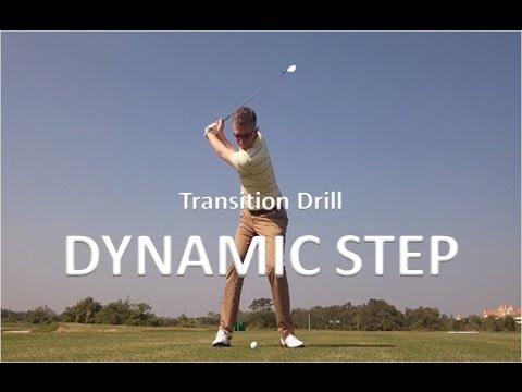Golf Swing Drill - Dynamic Step