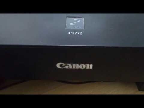 How to solve Canon pixma iP2770 error 6000