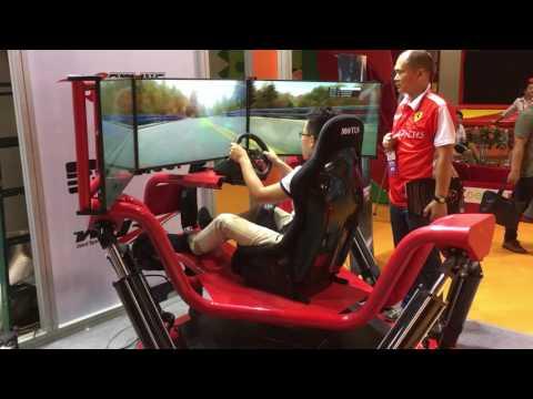 6 DOF Racing Simulator with servo system Oulatech