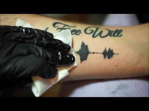 Soundwave Tattoo by Skin Motion | Salam testing