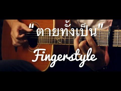 ตายทั้งเป็น  แจ้ ดนุพล Fingerstyle Guitar Cover (TAB)