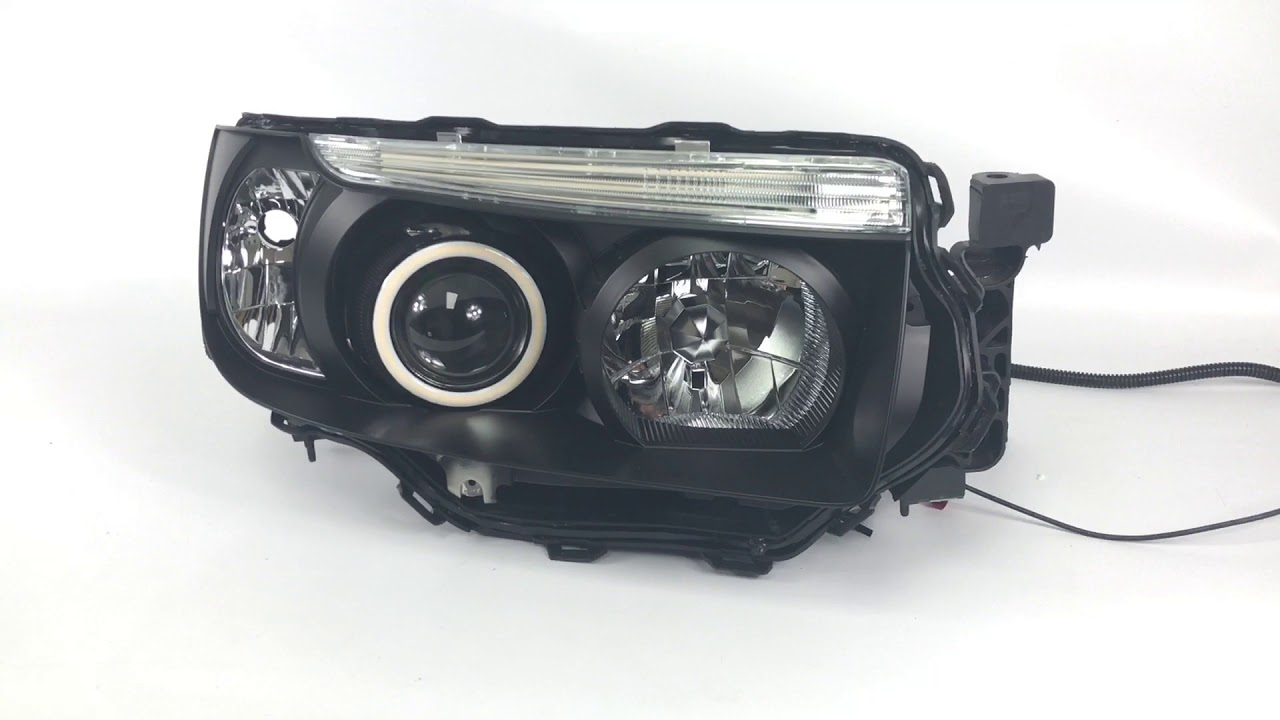 Subaru Forester Custom headlights