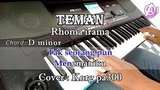 TEMAN - KARAOKE LIRIK CHORD (COVER) KORG Pa300