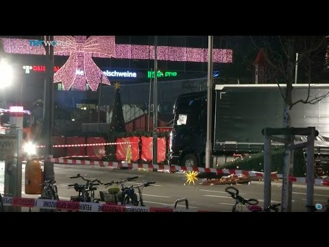 Christmas Market Attack: Truck drives into crowded Berlin outdoor market