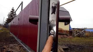 видео Сварной забор c установкой под ключ недорого