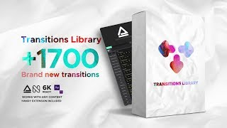 1700+ Transition Library for After Effects + Free Packs