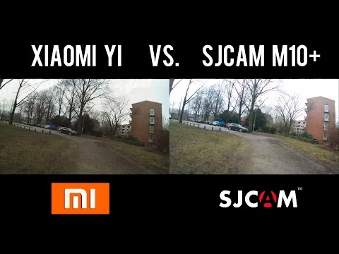 Xiaomi Yi vs SJCAM M10+ Day & Night Test 2K  1080p60  720p120