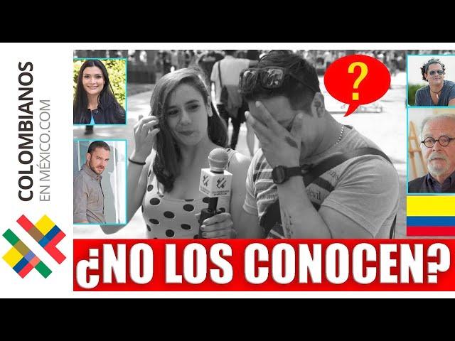 Colombianos FAMOSOS en México