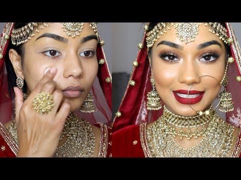 WEDDING DAY MAKEUP TUTORIAL | SABINA HANNAN