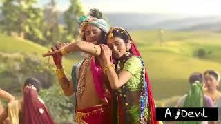 Wo Nakhre wali Hai Radhika Pyari Hai (New What's App Status)   Radha Krishna (Genius)
