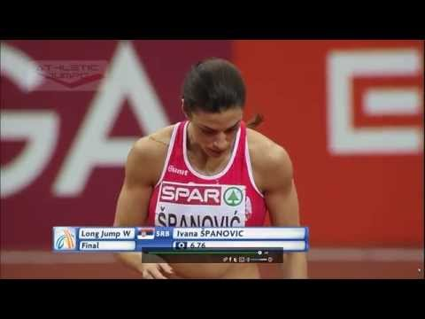 European Indoor Championships Prague 2015 Long jump - Women Final