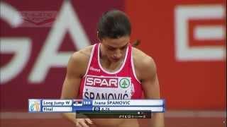 European Indoor Championships Prague 2015 Long jump - Women Final