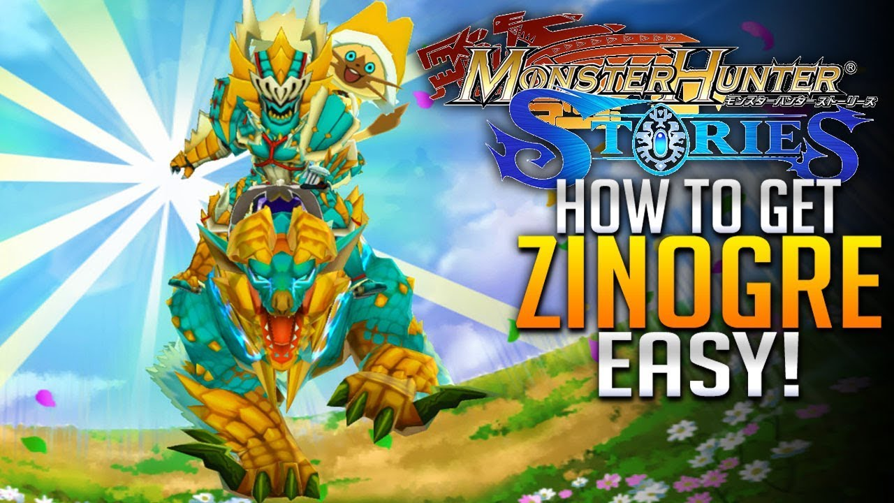 Monster Hunter Stories E10 How To Get Zinogre Easy Deviljho