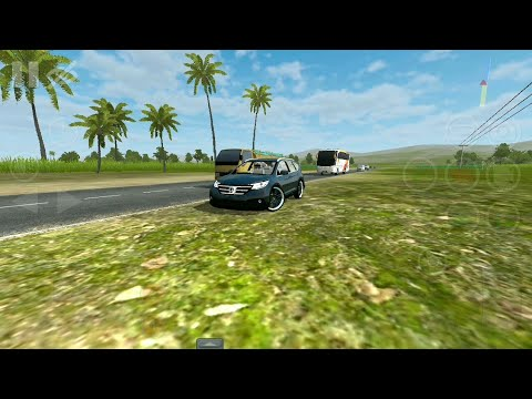 #Bussid Bus simulator indonesia game in Honda CRV car mod- first android gameplay!
