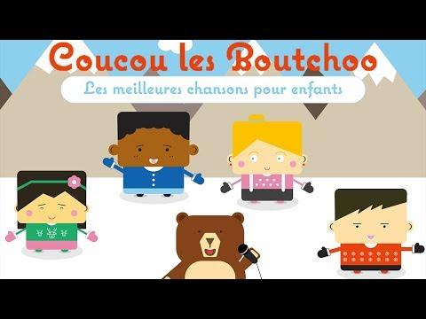 coucou les boutchoo les meilleures chansons pour enfants 1 heure youtube. Black Bedroom Furniture Sets. Home Design Ideas