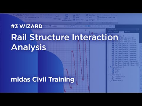 Webinar: Rail Structure Interaction Analysis - 3 rail track analysis wizard demonstration