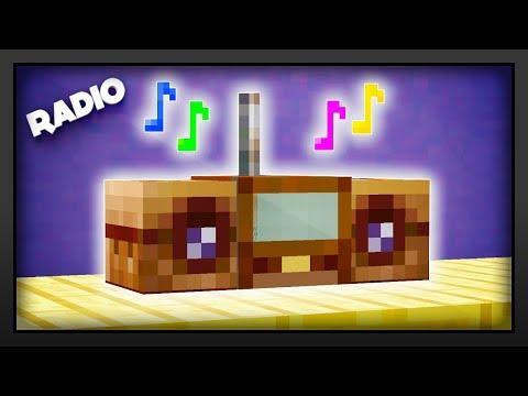 Minecraft - How To Make A Radio