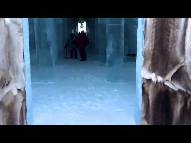 Nordkapp Vintertur 2015 - Video 19 - Ishotellet