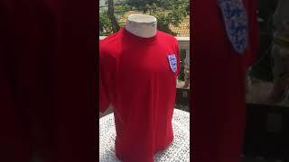 camisas de futebol retrô Inglaterra 1966