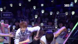 BEAST [Beautiful Night] @SBS Inkigayo Popular song 20120812