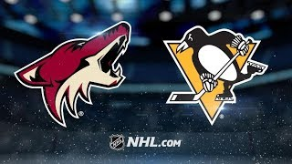Arizona Coyotes vs Pittsburgh Penguins | Nov.10, 2018 | Game Highlights | NHL 2018/19 | Обзор Матча