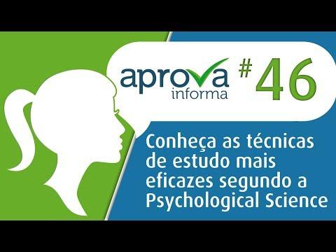 Aprova Informa 46 - Conheça as técnicas de estudo mais eficazes segundo a Psychological Science