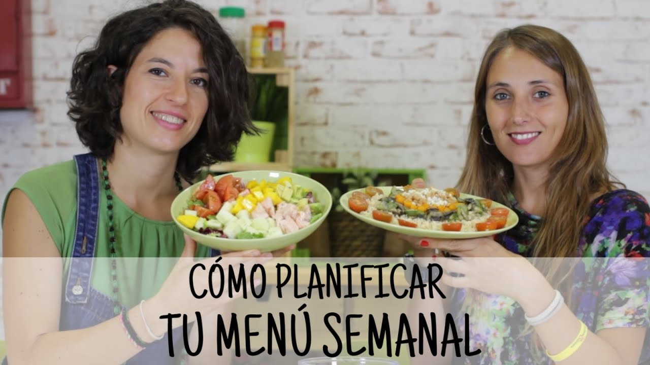 dieta sana adelgazar menu semanal equilibrado