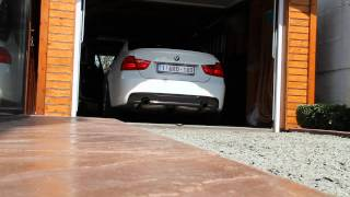BMW 335i N54 Coldstart with Catless downpipes & performance silencer