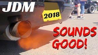 Japanese Cars Meeting 2018 [JDM] - Sounds Good + Backfires! - Autodromo di Modena