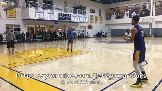Download Video Steph Curry buries 93 of 100 (26 in a row straight) threes after Warriors practice, day b4 Clippers MP3 3GP MP4