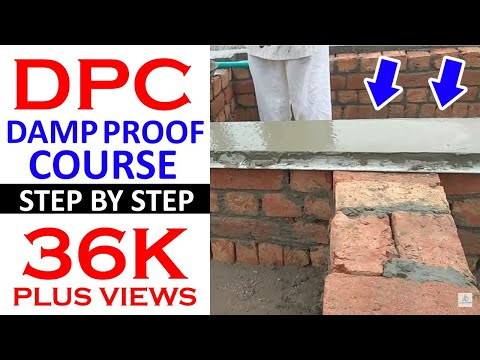 DPC (DAMP PROOF COURSE) step by step
