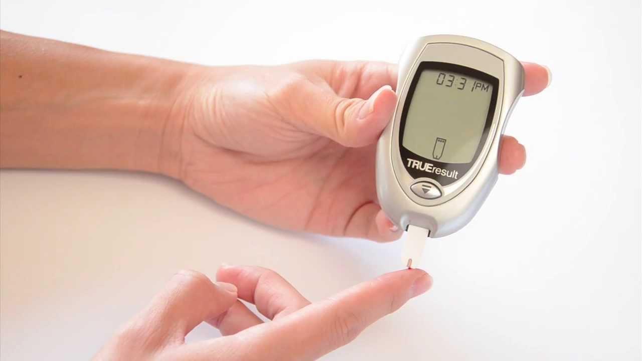 True Result Blood Glucose Meter Demonstration