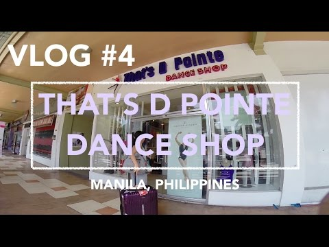 Dance stores in Manila: Thats d pointe dance shop