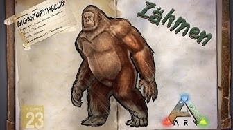 ARK‬: Survival Evolved [GUIDE/Deutsch] ** Gigantopithecus - Bigfoot zähmen **