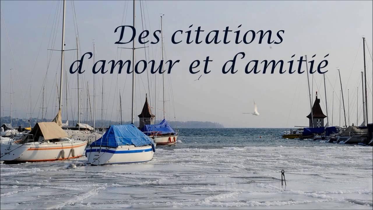 Des Citations D Amour Et D Amitié