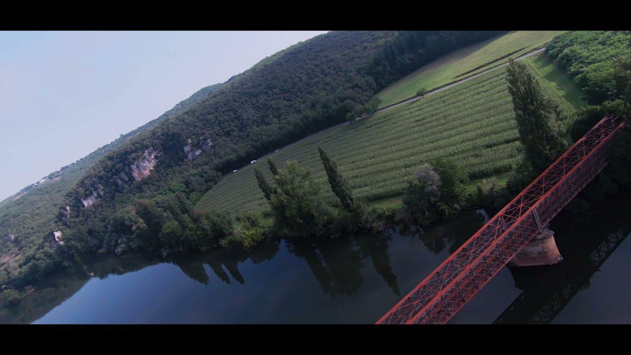 Download Les falaises du Lot à Vers - images drone dji fvp