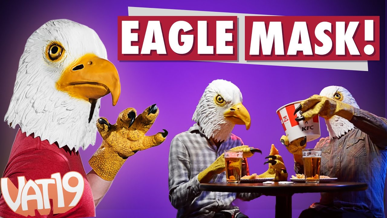 The Bald Eagle Mask and Talons